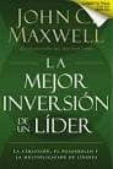 LA MEJOR INVERSION DE UN LIDER