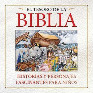 TESORO DE LA BIBLIA HISTORIAS Y PERSONAJES, LOS