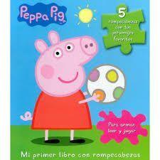 PEPPA PIG MI PRIMER LIBRO CON ROMPECABEZAS PARA ARMAR LEER Y JUGAR