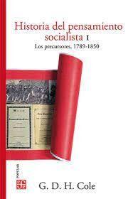 HISTORIA DEL PENSAMIENTO SOCIALISTA I