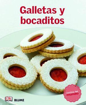 COCINA DEL MUNDO. GALLETAS Y BOCADITOS