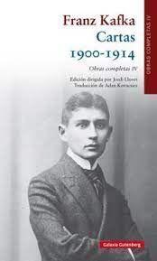 FRANZ KAFKA CARTAS 1900 - 1914 OBRAS COMPLETAS IV