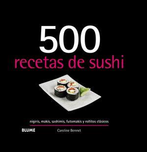 500 RECETAS DE SUSHI (2019)