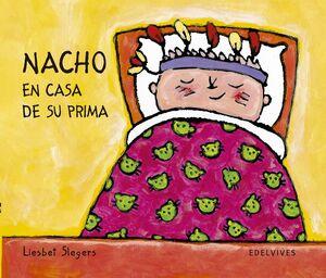 NACHO EN CASA DE SU PRIMA