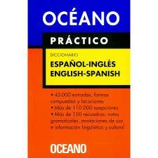 ESPAÑOL INGLES DICCI. OCEANO PRACTICO