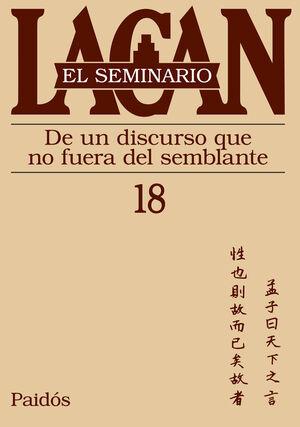 EL SEMINARIO. LIBRO 18