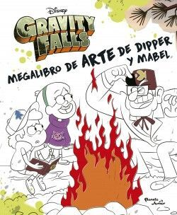 GRAVITY FALLS. MEGALIBRO DE ARTE DE DIPPER Y MABLE