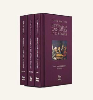 HISTORIA DE LA CARICATURA EN COLOMBIA (TOMOS I,II Y III)
