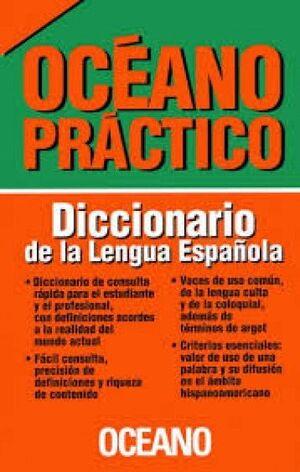 DICCIONARIO DE LA LENGUA ESPAÑOLA OCÉANO PRÁCTICO