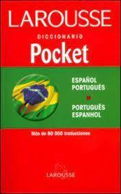 DICCIONARIO POCKET ESPAÑOL PORTUGUES PORTUGUES ESPANHOL