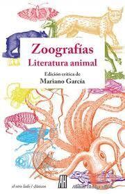 ZOOGRAFIAS LITERATURA ANIMAL